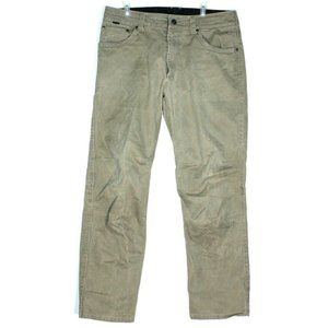 Kuhl Mens Ryder Khaki Pants Size 33 x 30